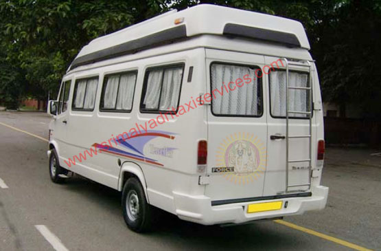 16 seater tempo traveller Hire in Visakhapatnam